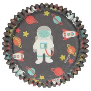 Formas Cupcake Espaço, 48 unid.