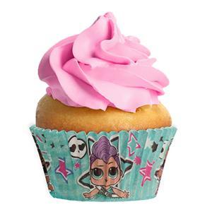 Formas Cupcake Lol, 25 unid.
