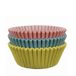 Formas Cupcake Multicolor Pastel, 60 unid.