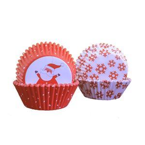 Formas Cupcake Natalícias, 64 unid.