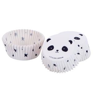 Formas Cupcake Panda, 50 unid