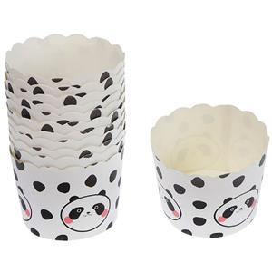 Formas Cupcake Panda Risonho, 12 unid.