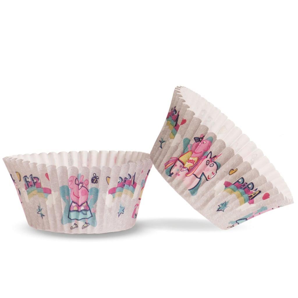 Formas Cupcake Peppa Pig, 25 unid.