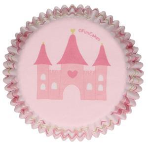 Formas Cupcake Princesas, 48 unid.