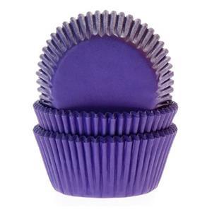 Formas Cupcake Roxas, 50 unid.
