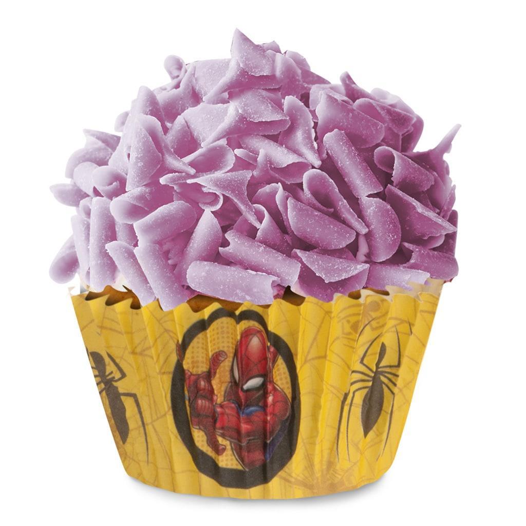 Formas Cupcake Spiderman, 25 unid.