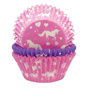 Formas Papel Cupcake Unicórnio, 75 unid.