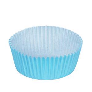 Formas Papel Cupcake Azul, 75 unid.