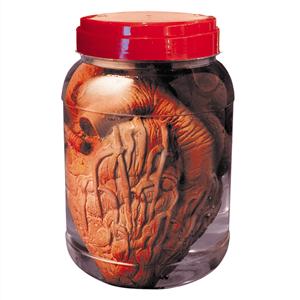 Frasco de Laboratório com Coração, 20 cm