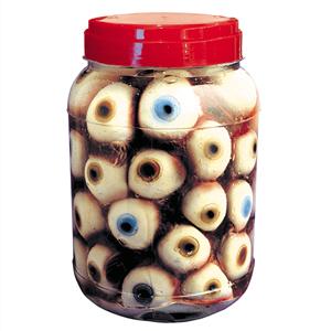 Frasco de Laboratório com Olhos, 20 cm