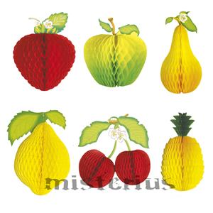 Fruta Favo de Papel, 52cm