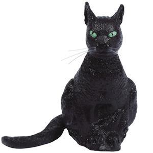 Gato Preto Sentado, 34 cm