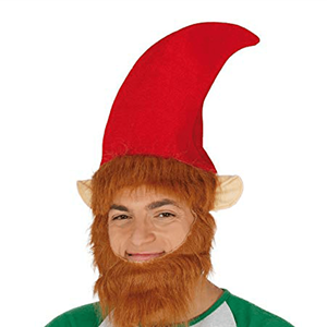 Gorro de Elfo com Barba