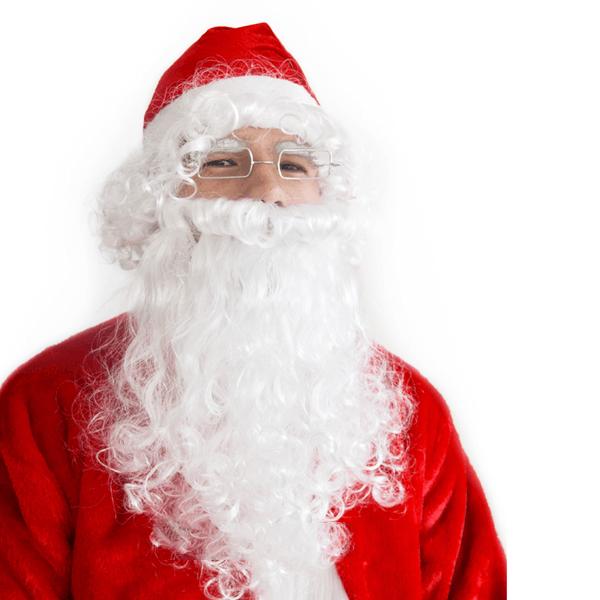 Gorro e Barba de Pai Natal, Adulto