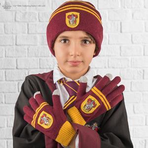 Gorro e Luvas Harry Potter Gryffindor, Criança