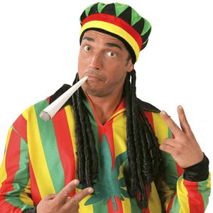 Gorro Jamaicano com Rastas