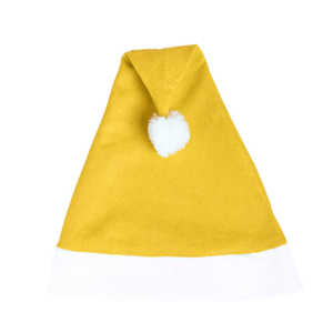 Gorro Pai Natal Amarelo