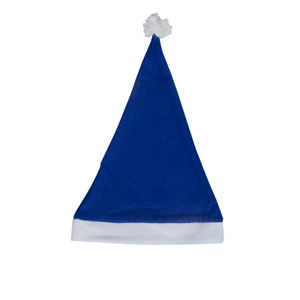 Gorro Pai Natal Azul Escuro