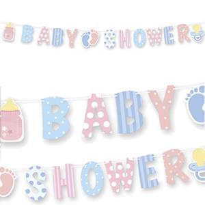 Grinalda BabyShower Riscas e Bolinhas, 3 mt