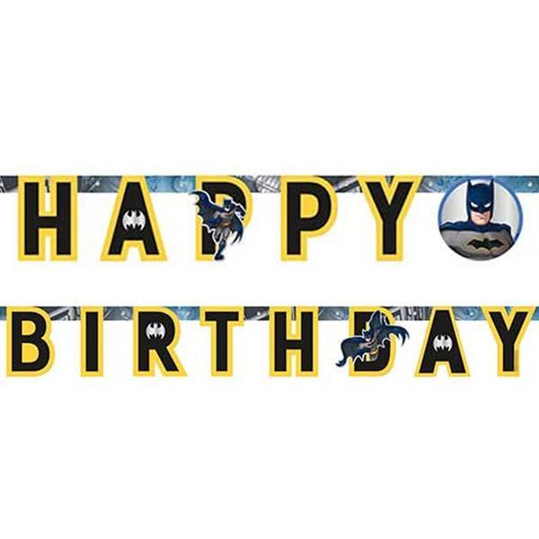 Grinalda Batman Happy Birthday, 1.75 mt