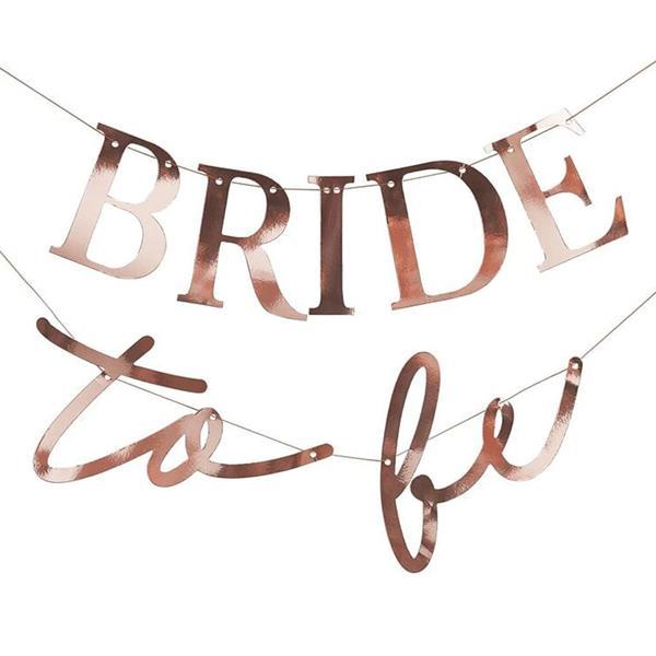 Grinalda Bride To Be Rosa Gold, 3 mt