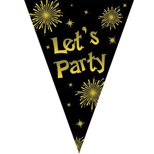 Grinalda com Bandeiras Let´s Party, 500 Cm