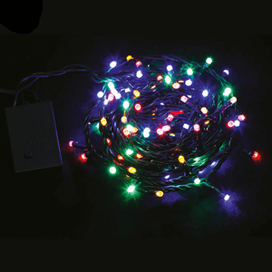 Grinalda de 180 Luzes de Natal Led Multicor, 10.5 Mt