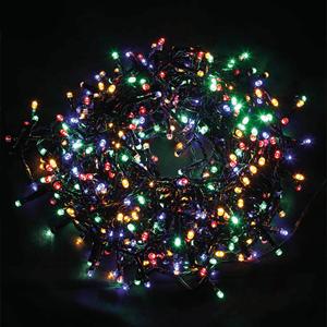 Grinalda de 560 Luzes de Natal Led Multicor, 11 Mt
