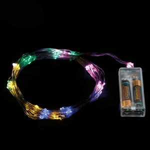 Grinalda de 70 luzes de Natal Led Multicolor, 90 Cm