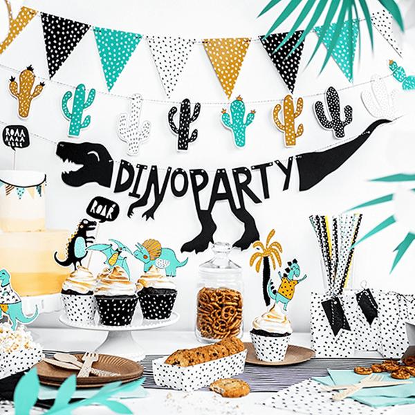 Grinalda Dino Party, 20 x 90 cm