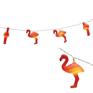 Grinalda Flamingo Luminoso, 1,65 mt