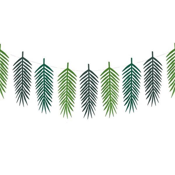 Grinalda Folhas de Palmeira Verdes
