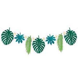 Grinalda Folhas Tropicais, 300 cm