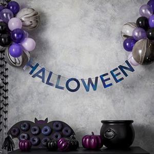 Grinalda Halloween com Balões