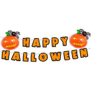 Grinalda Happy Halloween com Balões