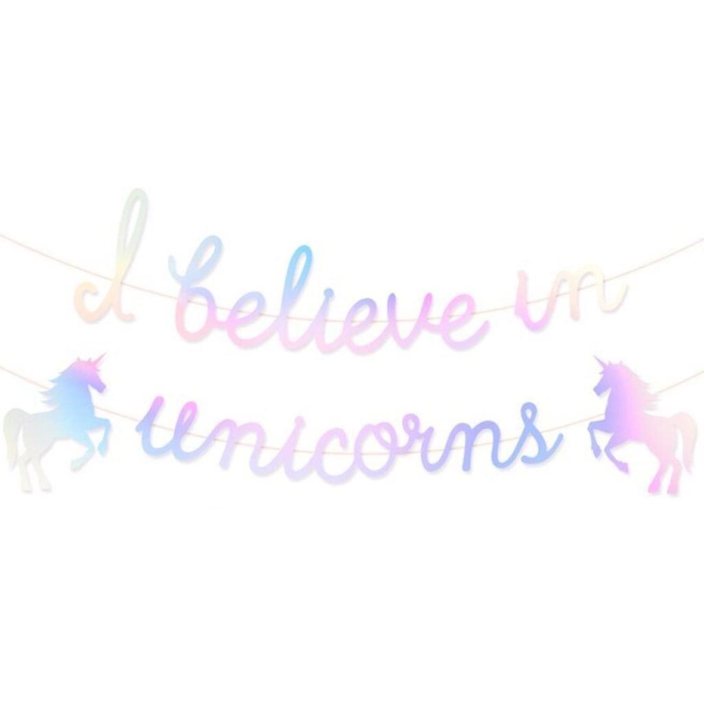 Grinalda I Believe in Unicorns Iridescente, 300 cm