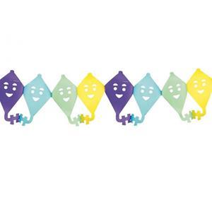 Grinalda Papagaios Coloridos, 400 cm
