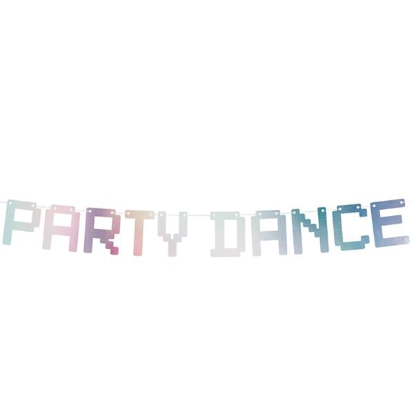 Grinalda Party Dance Iridescente, 1,30 mt