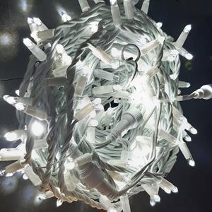 Grinalda Série, 2x10mt, 200 Leds Branco Frio c/Flash