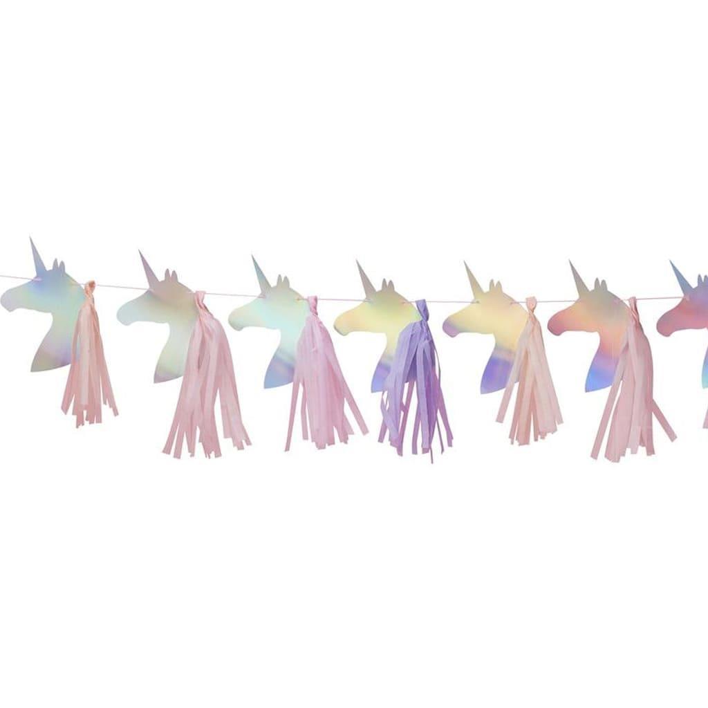Grinalda Unicórnio Iridescente