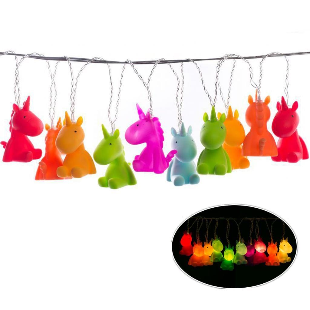 Grinalda Unicórnios Luminosos, 150 cm