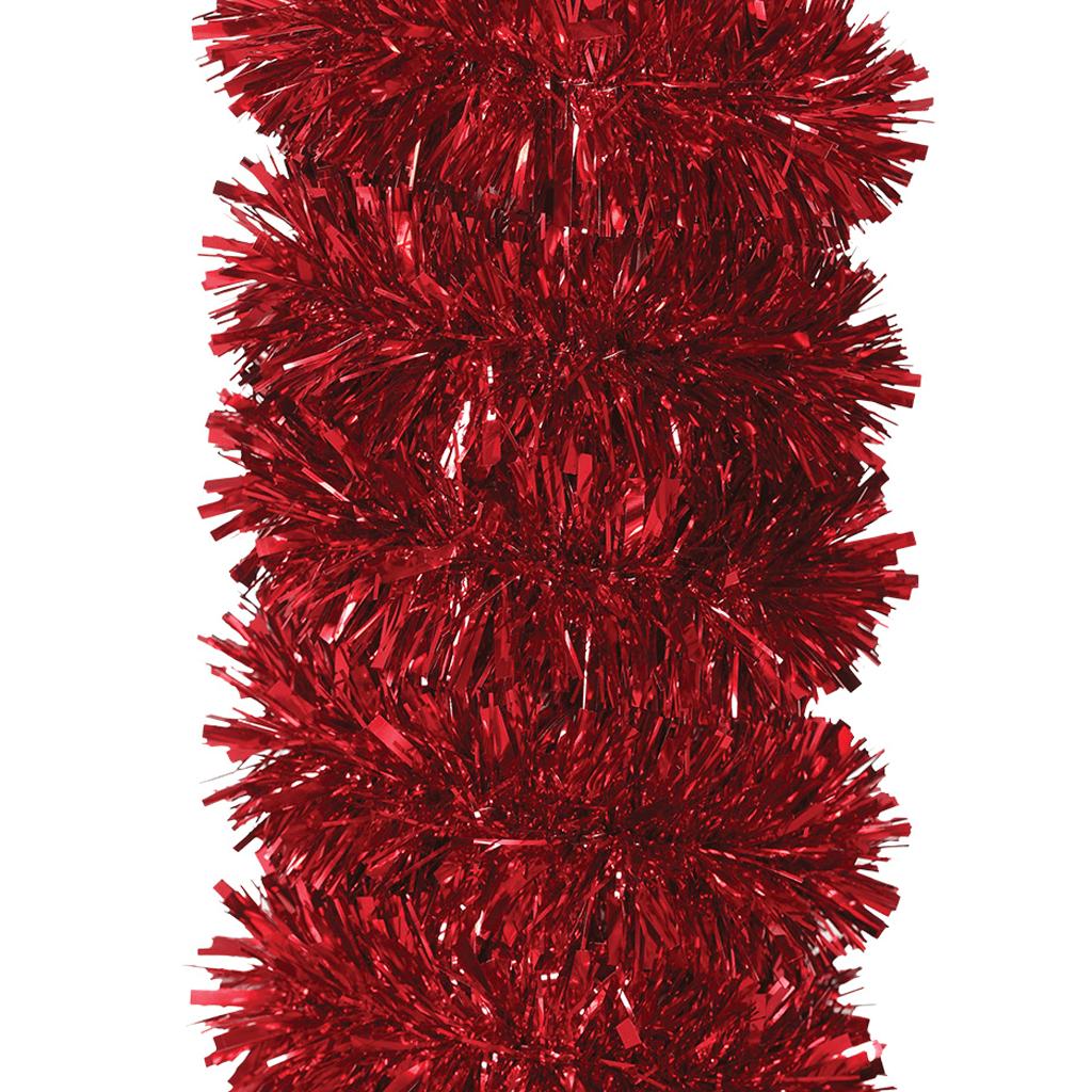 Grinalda Vermelha de Natal, 180 Cm