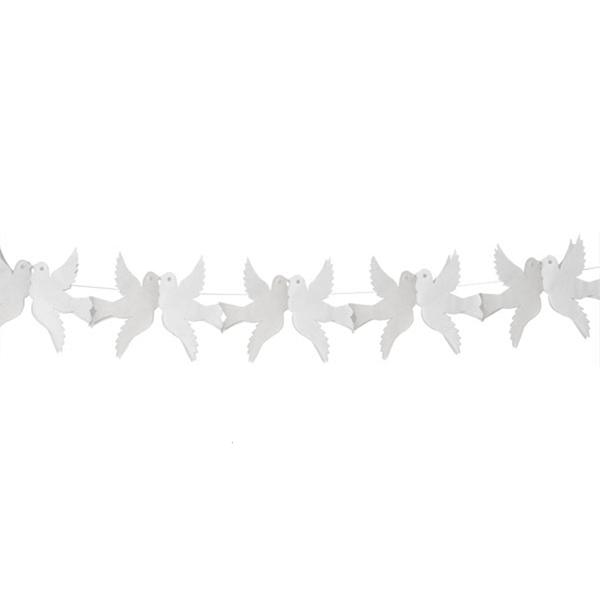 Grinaldas Pombas Brancas