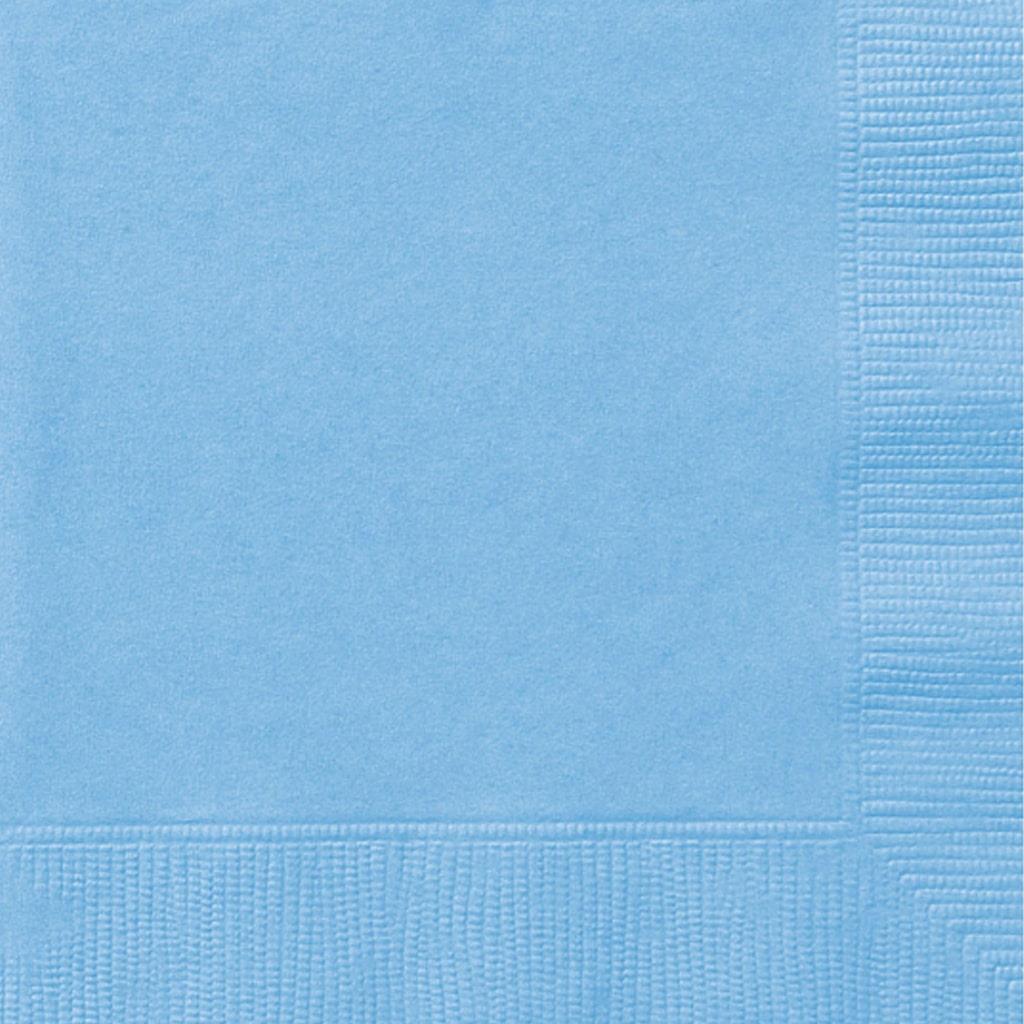 Guardanapo Azul Claro, 20 Unid.