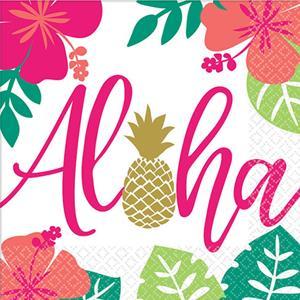 Guardanapos Aloha,16 unid.