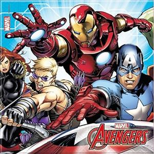 Guardanapos Avengers, 20 Unid.