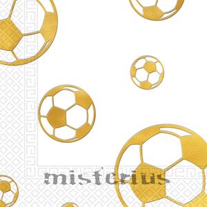 Guardanapos Bola Dourada, 15 unid.
