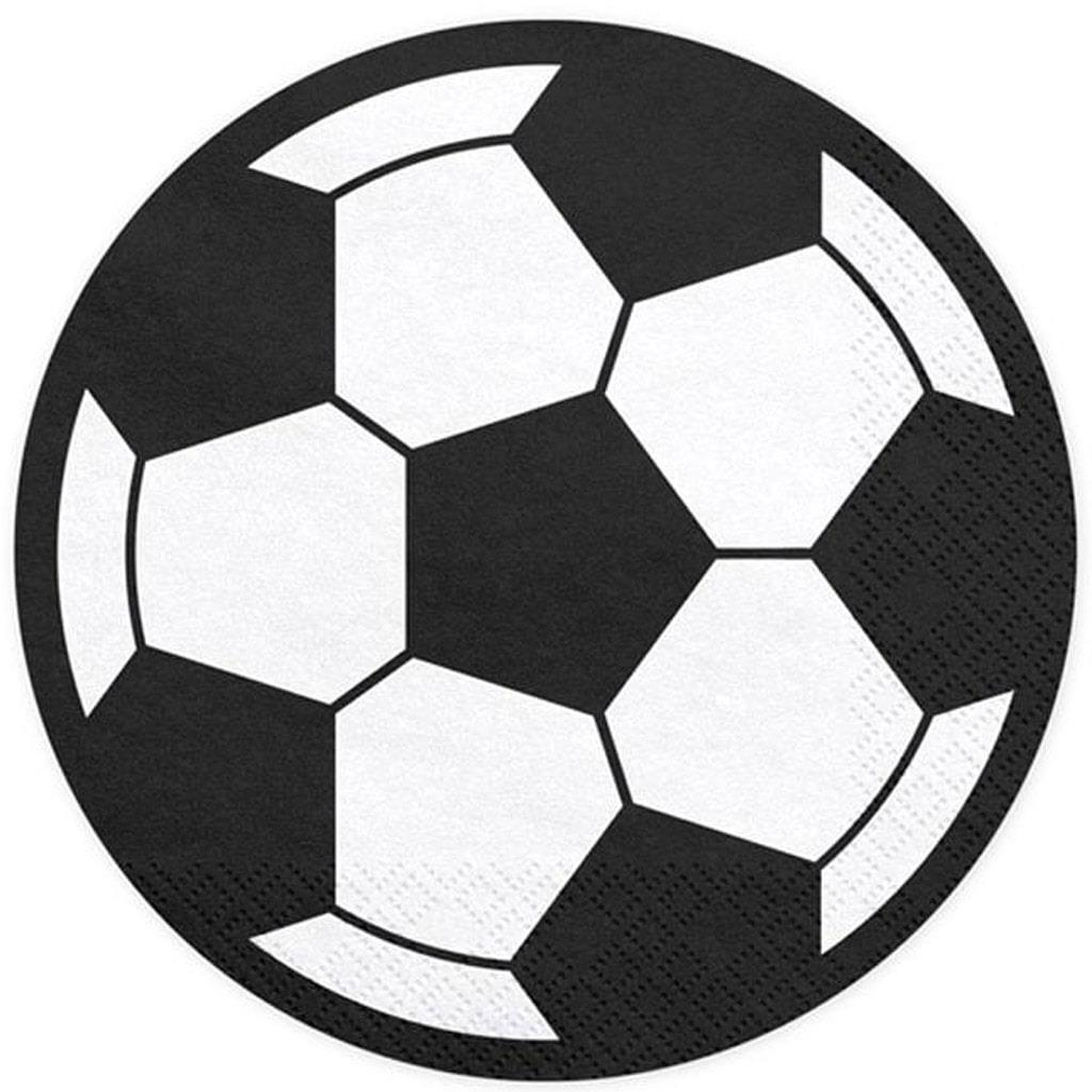 Guardanapos Bola Futebol, 20 Unid.