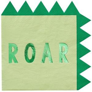 Guardanapos Dinossauros Roar, 16 unid.