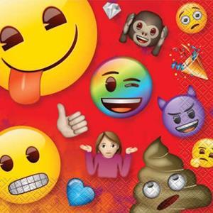 Guardanapos Emoji, 16 un